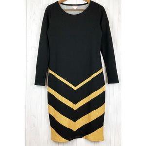 Debbie Long Sleeve Sheath Dress